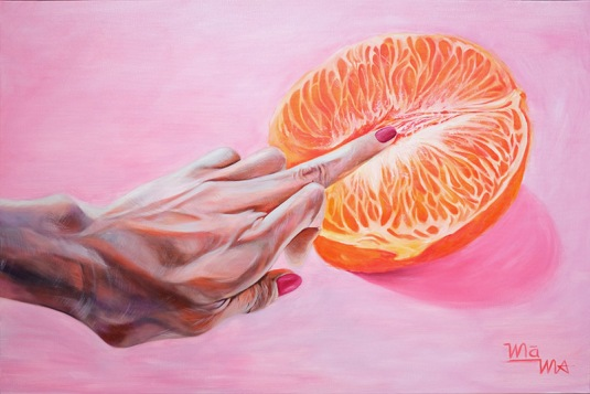 PULP FRICTION | OIL ON CANVAS 3' x 2'